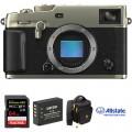 FUJIFILM X-Pro3 Mirrorless Digital Camera Body Deluxe Kit (Dura Silver)