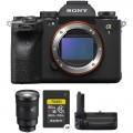 Sony Alpha 1 Mirrorless Digital Camera with 24-70mm f2.8 Lens and Vertical Grip Kit