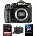 Pentax K-1 Mark II DSLR Camera Body with Accessories Kit