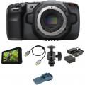 Blackmagic Design Pocket Cinema Camera 6K Monitoring Kit
