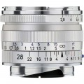 ZEISS Biogon T* 28mm f/2.8 ZM Lens (Silver)
