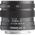Meyer-Optik Gorlitz Primoplan 75mm f/1.9 II Lens for Pentax K