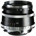 Voigtlander 28mm f/2.0 Ultron Vintage Aspherical VM Lens Type I (Black & Chrome Retro)