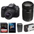 Canon EOS 90D DSLR Camera with 18-55mm and 55-250mm Lenses Kit