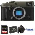 FUJIFILM X-Pro3 Mirrorless Digital Camera Body Deluxe Kit (Dura Black)