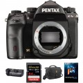 Pentax K-1 Mark II DSLR Camera Body with Battery Grip Kit