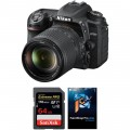 Nikon D7500 DSLR Camera with 18-140mm Lens and Software Kit