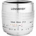 Lensbaby Velvet 56mm f/1.6 Lens for Pentax K (Silver)