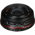 Pentax HD Pentax DA 21mm f/3.2 AL Limited Lens (Black)