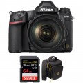 Nikon D780 DSLR Camera with 24-120mm Lens and Accessories Kit