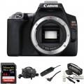 Canon EOS Rebel SL3 DSLR Camera Body Basic Kit (Black)
