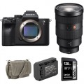 Sony Alpha a7R IV Mirrorless Digital Camera with 24-70mm f/2.8 Lens and Accessories Kit