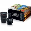 Canon Advanced 2 Lens Kit with 50mm f/1.4 and 17-40mm f/4L Lenses