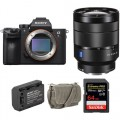 Sony Alpha a7R III Mirrorless Digital Camera with 24-70mm f/4 Lens and Accessories Kit